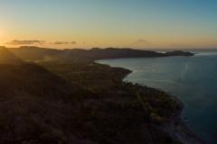 Sonnenuntergang in Lombok, Indonesien